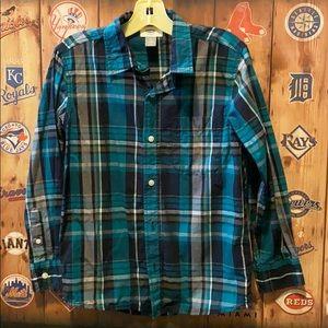 Old Navy cotton button down shirt boys 8